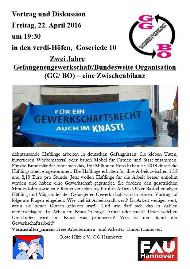 AG Betrieb & Gewerkschaft - Zusammenschluss für